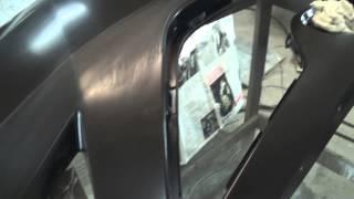 видео покраска переднего бампера