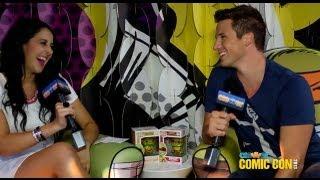 Matt Lanter Talks Star Crossed, Aimee Teegarden, and Being Married!