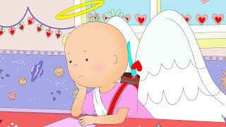 Caillou and Valentine's Day | Caillou Cartoon