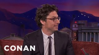 Chris Martin Was Zach Braff's Wingman  - CONAN on TBS