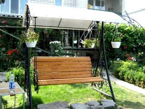 Садовые качели 14 Кованые качели для сада в Днепреиз YouTube · Длительность: 36 с