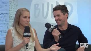 Matthew Goode and Teresa Palmer funny moments @ A Discovery of Witches season 1 interviews
