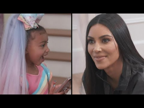 Kim Kardashian SHADES JoJo Siwa and North West Exposes Her For It!