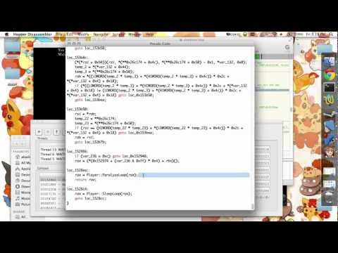 Use The Debugger with Hopper Disassembler/Decompiler - YouTube