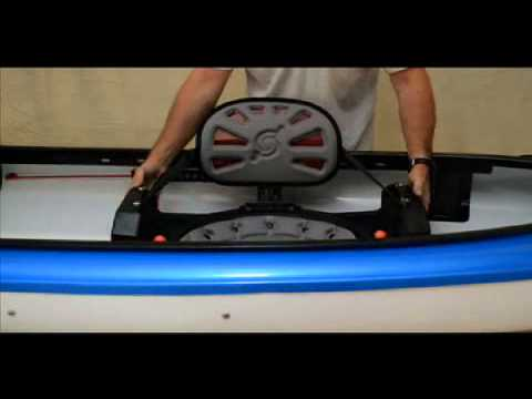 Hurricane Kayaks tandem seat move instructional video