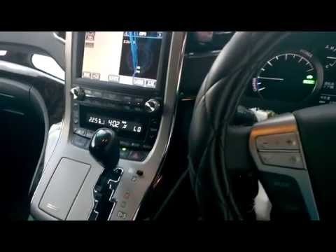 Walk through video of Toyota Vellfire 2015