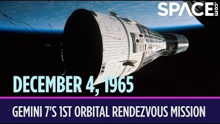 OTD in Space - Dec. 4: Gemini 7 Launches on 1st Orbital Rendezvous Mission