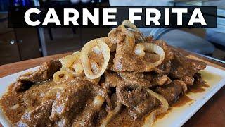 Carne Frita Recipe  Bistek Tagalog (Filipino Beef Steak)