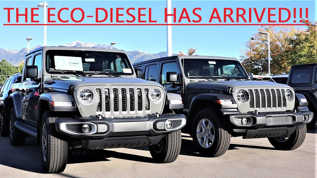 Diesel Jeep Wrangler >> The 2020 Jeep Wrangler Eco Diesel Has Officially Arrived