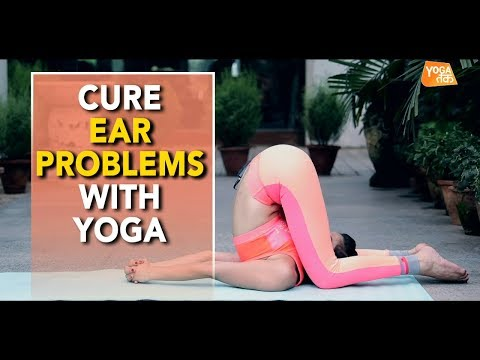 Yoga For Ear Problems | Ear Press Pose | Yoga Tak
