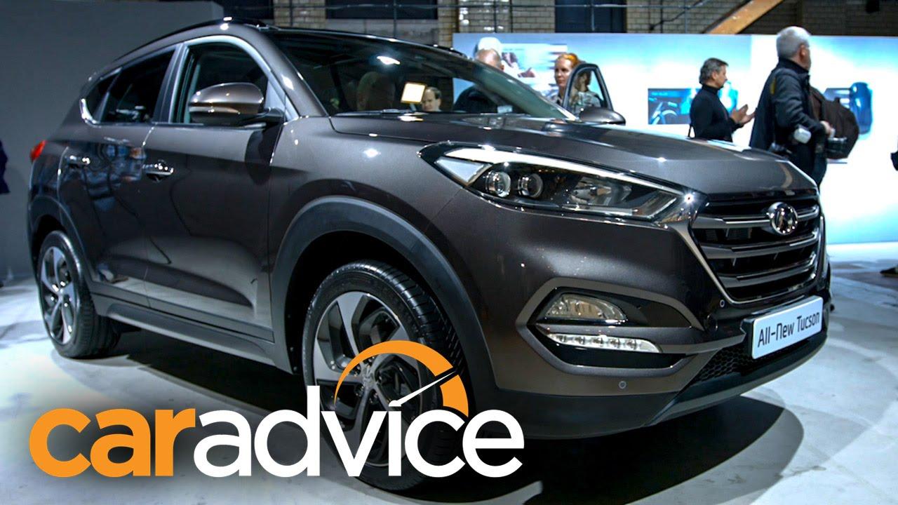 Cool 2016 Hyundai Tucson First Look Walkaround  YouTube