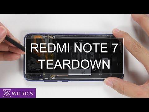 Xiaomi Redmi Note 7 Teardown