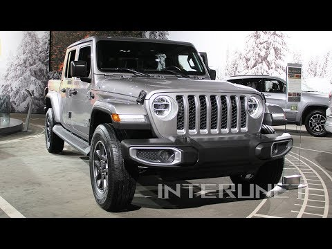 2020 Jeep Gladiator Overland new truck overview