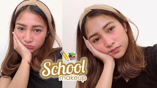 SCHOOL Makeup 2019 📚 (LESS THAN ₱200) | Ry Velasco