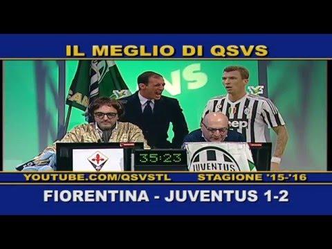 QSVS - I GOL DI FIORENTINA - JUVENTUS 1-2 TEELOMBARDIA / TOP CALCIO 24