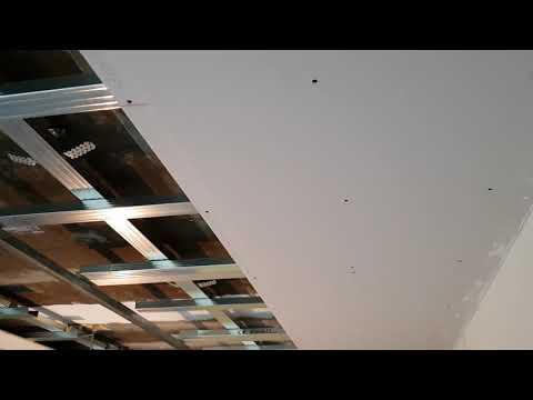 Verlaagd Plafond Woonkamer : Zwevend plafond plaatsen