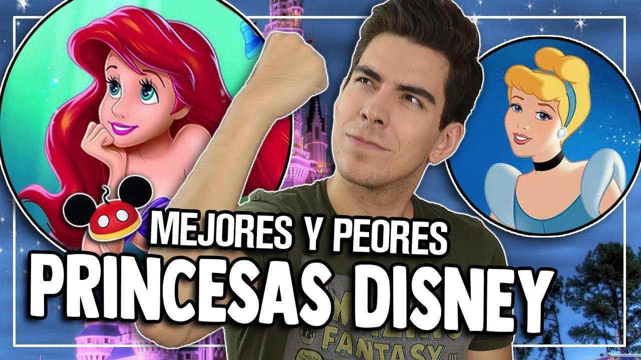 RANKING: Princesas Disney - Peor a Mejor   Caja de Peliculas