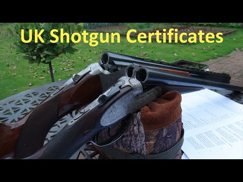 Shotgun Certificates (UK) Explained