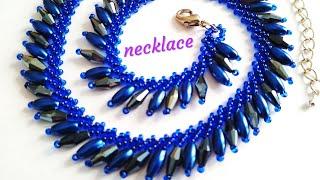 Beautiful necklace. DIY. Колье. Петербургская цепочка