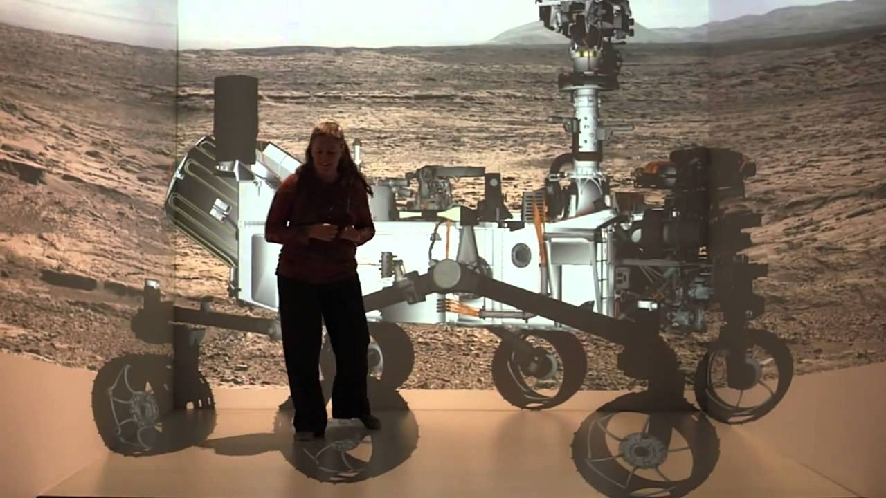 Tour the Rover Curiosity with CAVE - YouTube