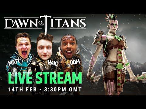DAWN OF TITANS LIVE | NEW TITAN | NAZUL