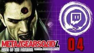 METAL GEAR SOLID 4: GUNS OF THE PATRIOTS | Metal Gear Saga Part 33: More Laughs! | Stream Four Star