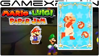 amiibo in Mario & Luigi: Paper Jam Trailer - Overview (Japanese)