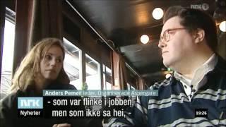 """Med Sofia Helin i norska """"Søndagsrevyen"""" 26/2 2012"""