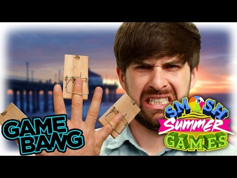 BLINDFOLDED MOUSE TRAP CHALLENGE (Game Bang)