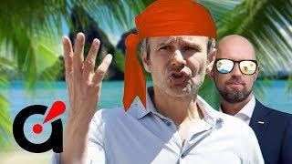 Пока страна переживает тяжелые времена скорбящий Вакарчук с Яценюком нежится на курорте
