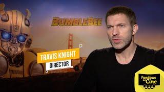 """Travis Knight: """"Bumblebee En Esencia Es Una Historia Humana"""""""