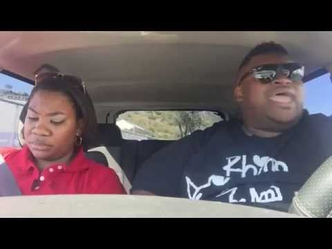 Kathy Lee - Brother Is Annoying His Sister Lip-Syncing Songs On A Road Trip
