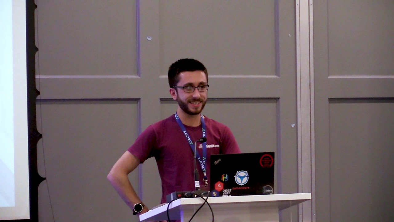 Image from PyCon Ireland 2019 - Lightning Talks