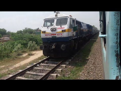 [ Full MPS] 22482 Delhi Sarai Rohilla Jodhpur Express skipping Jodhpur cantt station.