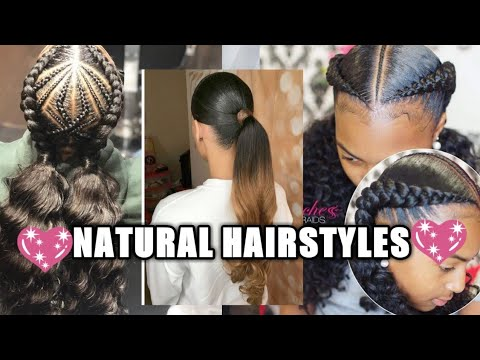 💖😘2020-packing-gel-ponytail-hairstyles|natural-hairstyles-+-hairstyles-for-black-women
