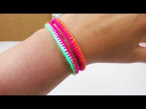 Sommer Armband | Cooles Freundschaftsarmband einfach & schnell selber machen | DIY Idee | UV aktiv