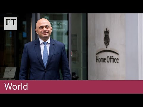 Who is Britain's new home secretary?