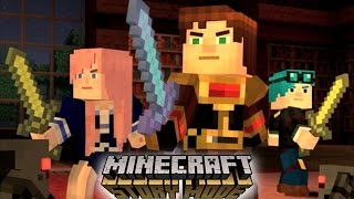 YOUTUBERS IN Minecraft: STORY MODE Episode 6 - A Portal to Mystery Part 1 (Minecraft Roleplay)