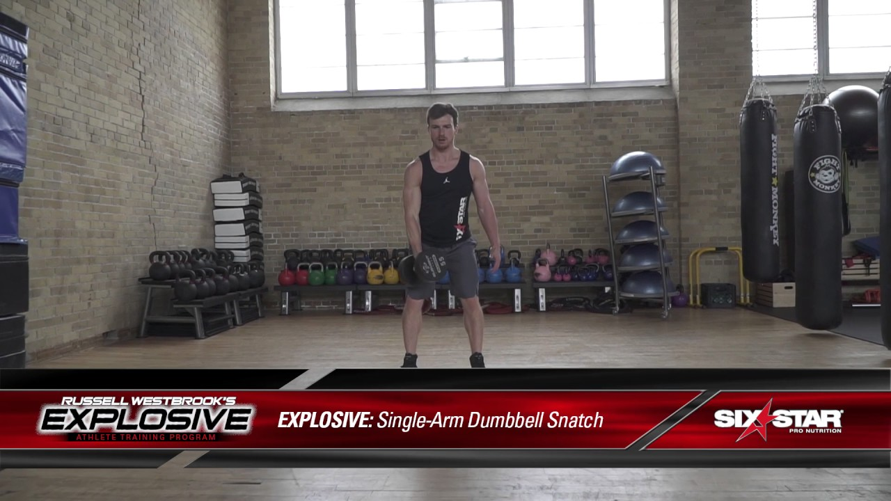 Explosive Athlete Training Program | Six Star Pro Nutrition