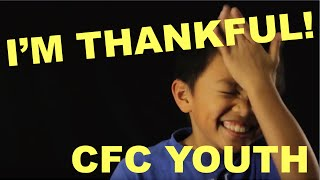 What are you thankful for? - CFC YOUTH