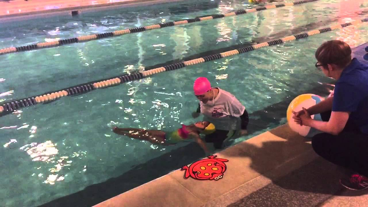 Download 150519 Patty passed the yellow cap at Brithis Swim Class