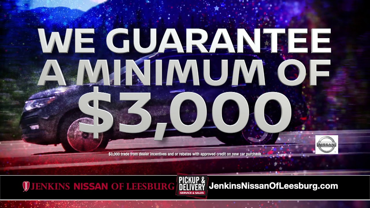 Jenkins Nissan Of Leesburg Cash For Junkers Is Back Youtube Review it here to tell others and tell us! youtube