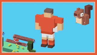 Unlock rugby player crossy road new secret character use