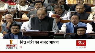 Union Budget 2018-19 | Budget Introduction