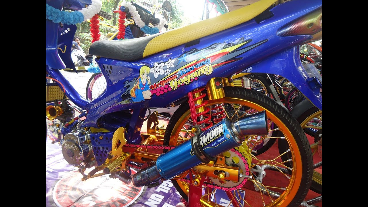 Kontes Modifikasi Suzuki Smash Thailook Street Racing Terbaru 2018 Youtube