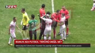 Amedspor jilet Olayı ! Sakaryaspor maçında Amedsporlu Mansur Çalar jilet mi kullandı?