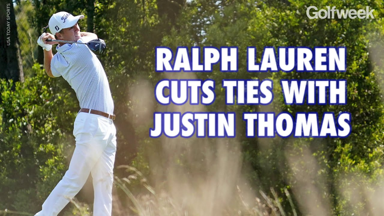 Justin Thomas loses Ralph Lauren endorsement deal after use of ...