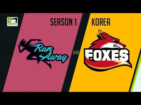 RunAway vs Foxes (Part 1) | OWC 2018 Season 1: Korea