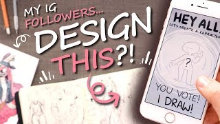 YOU DID THIS - Creating A Character With INSTAGRAM POLLS?!