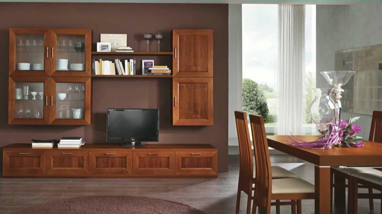 Arredamento soggiorno classico paris by artigianmobili for Arredare il salone di casa
